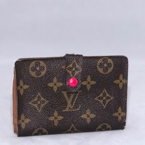 🌟LOUIS VUITTON🌟 VIONNES KISSLOCK WALLET